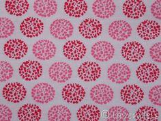 """Stoff Punkte - Ökotex ♥ """" Punkte -Punkte"""" rosa &... - ein Designerstück von lavendels bei DaWanda"""