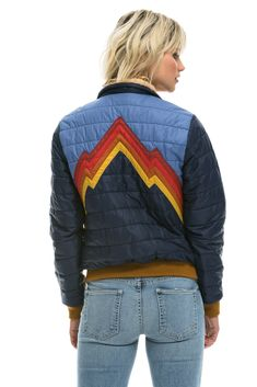 Vintage Clothing, Vintage Outfits, Vintage Fashion, Mountain Mural, Puffy Jacket, Branded Shirts, Wishing Well, Retro Aesthetic, Ski And Snowboard