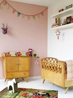 Inspiratie: #Babykamers met een #vintage #interieur.