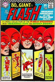 A cover gallery for the comic book The Flash Comic Books For Sale, Dc Comic Books, Vintage Comic Books, Vintage Comics, Comic Book Covers, Comic Book Heroes, Comic Art, Flash Comics, Dc Comics Art