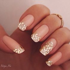 Glitter nails ...HAVE YOU LIKED US YET? DON'T MISS OUT!!! HAIR NEWS NETWORK on FaceBook! https://www.facebook.com/HairNewsNetwork