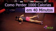 Como Perder Mil Calorias em 40 Minutos - 4FitClub Girls