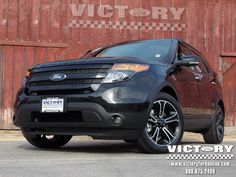 So you think a Ford Explorer can't be sexy? Think AGAIN... check this 2013 Explorer Sport model just in at Victory Ford!