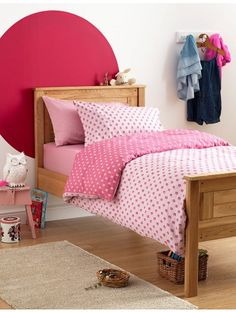 Pretty pink bedroom with our super soft Pink Flowers bedding set. Reversible shades of pink with dainty flower design. Kids Bedding Sets, Cotton Bedding Sets, Bed Linen Sets, Luxury Bedding Sets, Duvet Sets, Linen Bedding, Childrens Bed Linen, Latest Bed, Linen Store