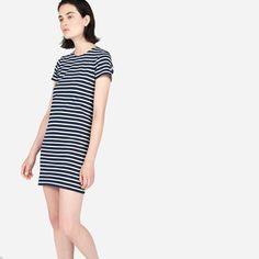 Great Condition Everlane Gia Mini Dress Striped