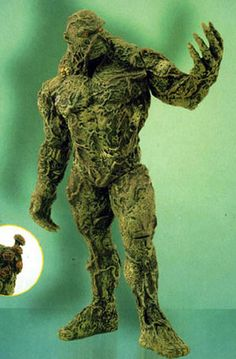 Swamp Thing not to be confused with the creature from the black lagoon Swamp Creature, Dnd Monsters, Black Lagoon, Halloween 2016, Hairy Men, Godzilla, Swamp Thing, Action Figures, Lion Sculpture