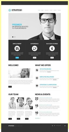 Consulting Facebook HTML CMS Template