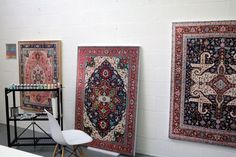 Elaborate Hand-Painted Persian Carpets by Jason Seife | The Dancing Rest https://thedancingrest.com/2016/08/17/elaborate-hand-painted-persian-carpets-by-jason-seife/