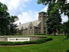 Loyola Blakefield [Wikipedia] grandfather went here when it was known as Loyola High School