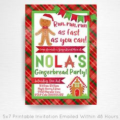 Gingerbread Man Hous