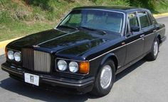 1990 Bentley Turbo R (Armored) - Also post apocalyptic approved.