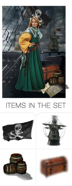 """Grace O'Malley Pirate Queen"" by shelley-harcar ❤ liked on Polyvore featuring art, ixzz3xC1Thr2W and ixzz3xC1pHLBU"