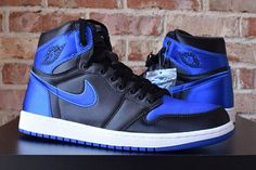 Air Jordan 1 (Satin Royal) – Sneaker Freaker