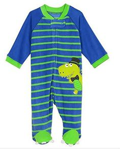 Little Me BabyBoys Dino Blanket Sleeper 6 months ** Click on the image for additional details. (This is an affiliate link) #BabyBoySleepwearRobes