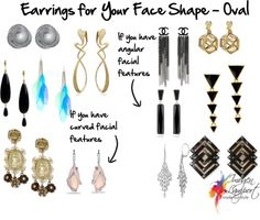 Earrings for Your Face Shape - Oval | Inside Out Style