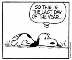 Quindi questo è l'ultimo giorno dell'anno.