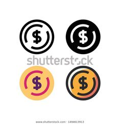 Find Coin Logo Icon Design Four Style stock images in HD and millions of other royalty-free stock photos, illustrations and vectors in the Shutterstock collection. Thousands of new, high-quality pictures added every day. Coin Icon, Bitcoin Logo, Color Lines, Logo Inspiration, Icon Design, Panda, Coins, Royalty Free Stock Photos, Diy Storage