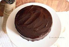 "En mi nube de azucar....: ""La tarta de chocolate"" Cake Recipes, Pudding, Tableware, Desserts, Chocolates, Martini, Food, Diabetes, Recipes"