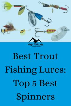 Trout fishing is fun, rewarding, and at times, extremely exciting. If you enjoy getting out and experiencing nature at its finest, then it could be time to pack your hiking bag, throw a bit of fishing gear together, and head out to target some backcountry trout. Best Trout Lures, Trout Fishing Lures, Hiking Bag, Best Fishing, Target, Times, Nature, Fun, Naturaleza