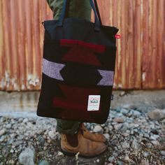 Topo Designs x Woolrich Cinch Tote http://topodesigns.com/collections/topo-designs-x-woolrich/products/topo-designs-x-woolrich-cinch-tote
