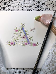 Ink Flourishes: 2020 Calligraphy Drawing, Antler Art, Sending Hugs, Alphabet Art, Calendar Pages, Penmanship, Finding Joy, Holiday Festival, Light Table