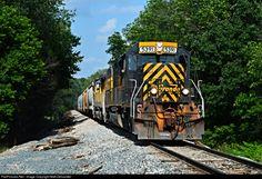 RailPictures.Net Photo: WLE 5391 Wheeling & Lake Erie EMD SD40T-2 at Dalton, Ohio by Matt Delsander