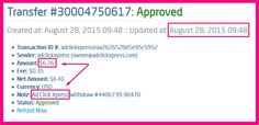 Withdrawal Proof No. 3 from Ad Click Xpress - NOT A SCAM ! I WORK FROM HOME less than 10 minutes and I manage to cover my LOW SALARY INCOME. If you are a PASSIVE INCOME SEEKER, then AdClickXpress (Ad Click Xpress) is the best ONLINE OPPORTUNITY for you. I am getting paid daily at ACX and here is proof of my latest withdrawal. This is not a scam and I love making money online with Ad Click Xpress. http://www.adclickxpress.com/?r=Sneza70&p=aa