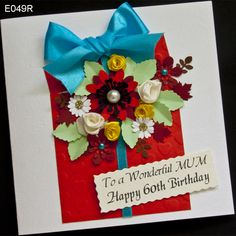 Card with colorful flowers that do not fit in the box birthday. In addition, personalized, specially prepared for your next birthday.  http://www.handmadecards24.co.uk/product/handmade_birthday_card_box
