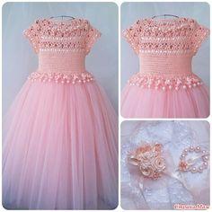 Красивое платье для девочек