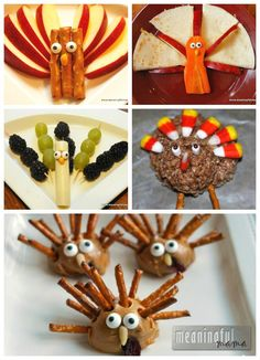 Turkey Snacks for Kids