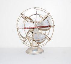 Vintage Fan Metal Cage Industrial 1950's by CheekyVintageCloset, $74.00