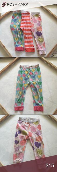 Gap Pj pants bundle Three pairs of fun print pj pants for toddlers. Some wear but perfect for bedtime. 18-24M GAP Pajamas Pajama Bottoms