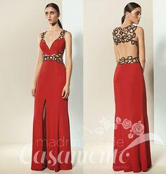 Madrinhas de casamento: Vermelho em frente e verso: vestidos para formandas e madrinhas!