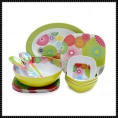Shop for French Bull 'Spirals' Boxed Melamine Dinnerware Set. Get free delivery On EVERYTHING* Overstock - Your Online Kitchen & Dining Shop! Melamine Dinnerware Sets, Tableware, Serveware, Outdoor Dinnerware, Spirograph, Tech Accessories, In This World, Entertaining, Spirals