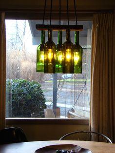 wine bottle lighting. wine bottle chandelier lighting g