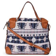 Awesome pattern, great style and I love the crossbody.