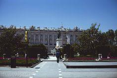 palacio real. madrid. spain.