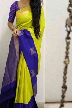 Charming Green Color Soft Silk Designer Sarees - SB1017  30""