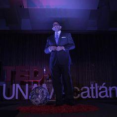 """""""Querer, saber, poder y comunicar"""" Sergio Talavera invita a gestionar con C.A.R.I.S.M.A. en #TEDxUNAMAcatlán 2016"""