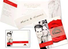 FotoHochzeitseinladungen+Hochzeitseinladungen+-+Rosenrot