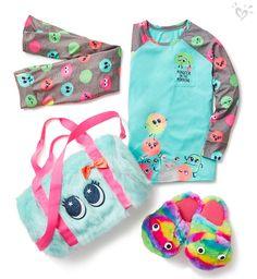 Cute, Comfy & Fun Sleepwear & Pajamas For Tween Girls Kids Outfits Girls, Cute Girl Outfits, Girls Fashion Clothes, Tween Fashion, Tween Girls, Little Girl Fashion, Cute Girls, Little Girls, Justice Girls Clothes