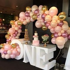 love this shot of our balloons with these incredible colours foam table @styled_by_emilia cake by @bakedbybelinda
