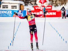 Johannes Bö wins sprint in Anterselva 2019 (photo by Petr Slavík)