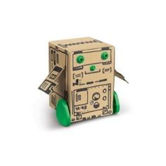 00-01528 Box #Robot Reuse the packaging box to build a robot. #Students can doodle on the box surface to make their unique #design and understand how automated guided #vehicles work. Price: S$13.50