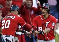 NLDS Game 1: Tyler Moore delivers in the clutch, helps Nationals take down Cardinals