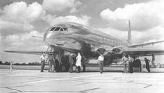 de Havilland DH106 Comet. 1949
