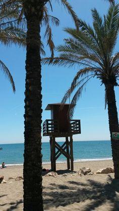 Playa la Carihuela Torremolinos Spain