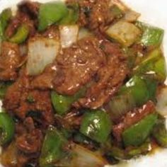 Steak - Really good Pepper Steak recipe and not overly salty when low sodium products are used. -Pepper Steak - Really good Pepper Steak recipe and not overly salty when low sodium products are used. Pepper Steak And Onions, Crockpot Pepper Steak, Pepper Steak Recipe Easy, Pepper Steak Sauce, Crockpot Peppers, Onion Recipes, Meat Recipes, Cooking Recipes, Beef Recipes Low Sodium