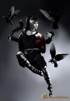 Dark Glamour from Natalie Shau