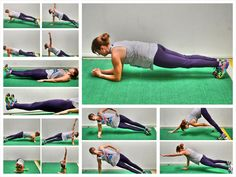 Here's how to do perfect plank form as well as other fun variations of the basic plank.